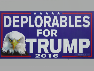 Sign 2 - Deplorables