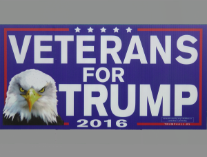 Sign 4 - Veterans for Trump